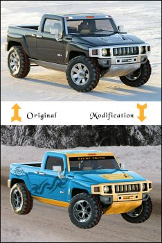 Hummer H3 Modification by slaughterdbc
