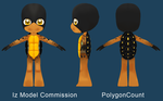 Iz Model Commission by PolygonCount