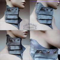 Armor collar by Pinkabsinthe