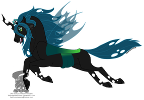 Queen Chrysalis by KatWithKnives