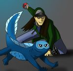 Pokemon Trainer A2D by bookinbear