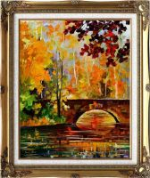 The link to fall framed by Leonid Afremov by Leonidafremov
