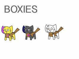 Boxies: Species by Peppermeow