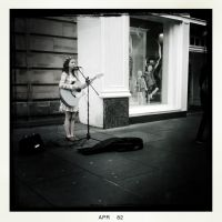 The Littlest Busker by elizabethunseelie