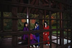 Basilisk - The Iga Girls! Oboro, Hotarubi, Akiginu by TophWei