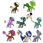 Mix Species Adopts Open by HamsterFluf