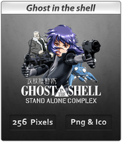 Ghost in the Shell- Anime Icon by DevilL-Dante