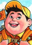 Russell  Sketch Card by TheRigger