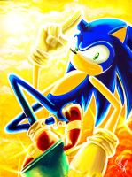 Sonic The Hedgehog by Sept1st
