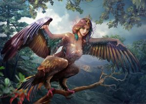 Slavic mythology. Sirin