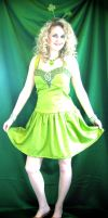 Lime Green Dress by ThreeRingCinema
