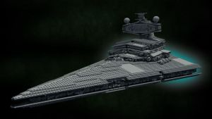 LEGO Star Destroyer by Knightfall3D