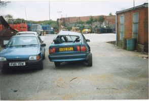 Fate of my 1st car - number 2 by bisi