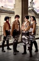 Shingeki no kyojin cosplay 1 by Runliney