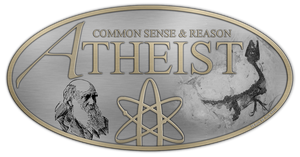 Atheist Logo - Metal by PlaysWithWolves