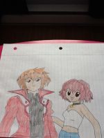 Slifer Judai and street clothes Daisuke by MIRACLESVEEMON