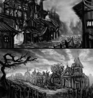 Practicing Landscapes by 4Fumiaki4