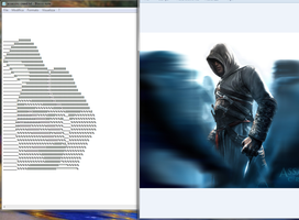 Assassin's Creed Ascii Art by Ermac94