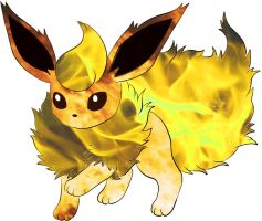 shiny flareon by cargirl64