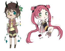 Sketchy RPG Adopts ::OPEN:: by kaoppai