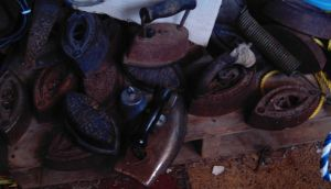 Piles of irons by specialoftheweek