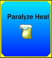 Paralyze Heal Card (Adopt) by Dianamond