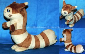 [PLUSH] Furret by ShiroTheWhiteWolf