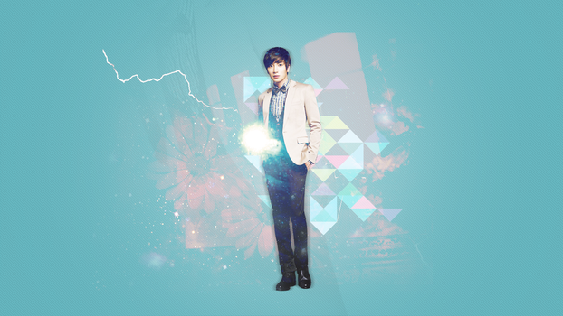 Wallpaper: Super Junior Leeteuk by HanJeossi