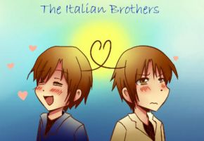 ~The Italian Brothers~ by jackiekawaii