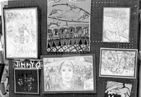 High School Art Show 2008 by CelmationPrince
