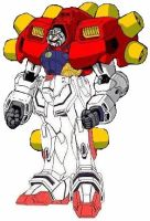 The original Ultimate Gundam by solaar