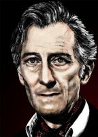 Peter Cushing by Eldrtich1111