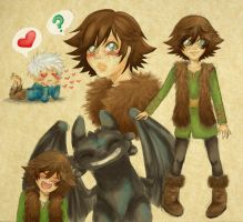 Fem!Hiccup by SpazztasticFanGirl
