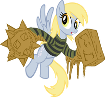 Derpy, The Sandmare by tygerbug