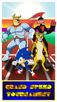Commission - Grand Speed Tournament Poster by BennytheBeast