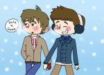 OTP Challenge- 1. Holding Hands by drefeno