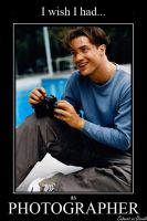 Brendan Fraser as Photographer by CABARETdelDIAVOLO