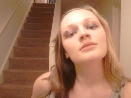 LoZ: Twilight Princess inspired make-up, version 2 by arseniccandy-cosplay