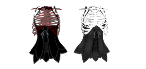 MMD Ribcage Corsets Download by TheGirlNamedSig