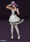 Ayane: Maid by SupernovaX2