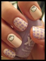 Hello Kitty nails_2 by xstdx