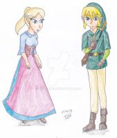 Young Adults- ZeLink by Niarahime
