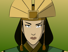 Avatar Kyoshi - No make-up by theOriginalKEA