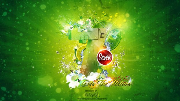 WALLPAPER-SEVEN-UP-BY-H2SSPROD by H2SSPROD