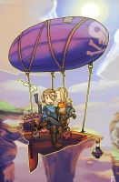 Airship for one by Ekuneshiel
