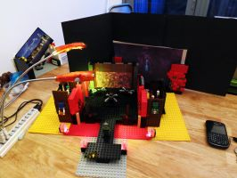 LEGO DOOM MARS in Bricks FINAL BATTLE by Digger318