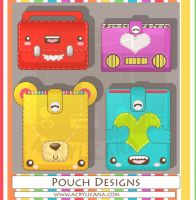 Pouch Pals Designs by marywinkler