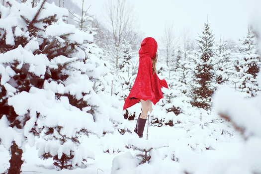red riding hood II by RainyAndButterfly