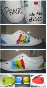 panic shoes by amyyy-xD