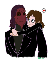 AT: Thrax and His Fangirl by KiaraLPhoenix